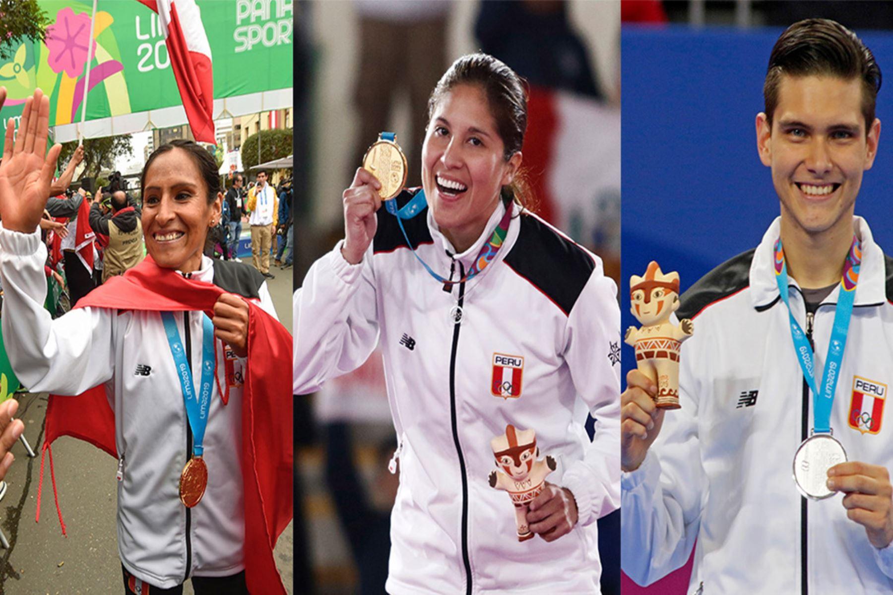 Gladys Tejeda, Alexandra Grande y Hugo del Castillo fueron los grandes ganadores