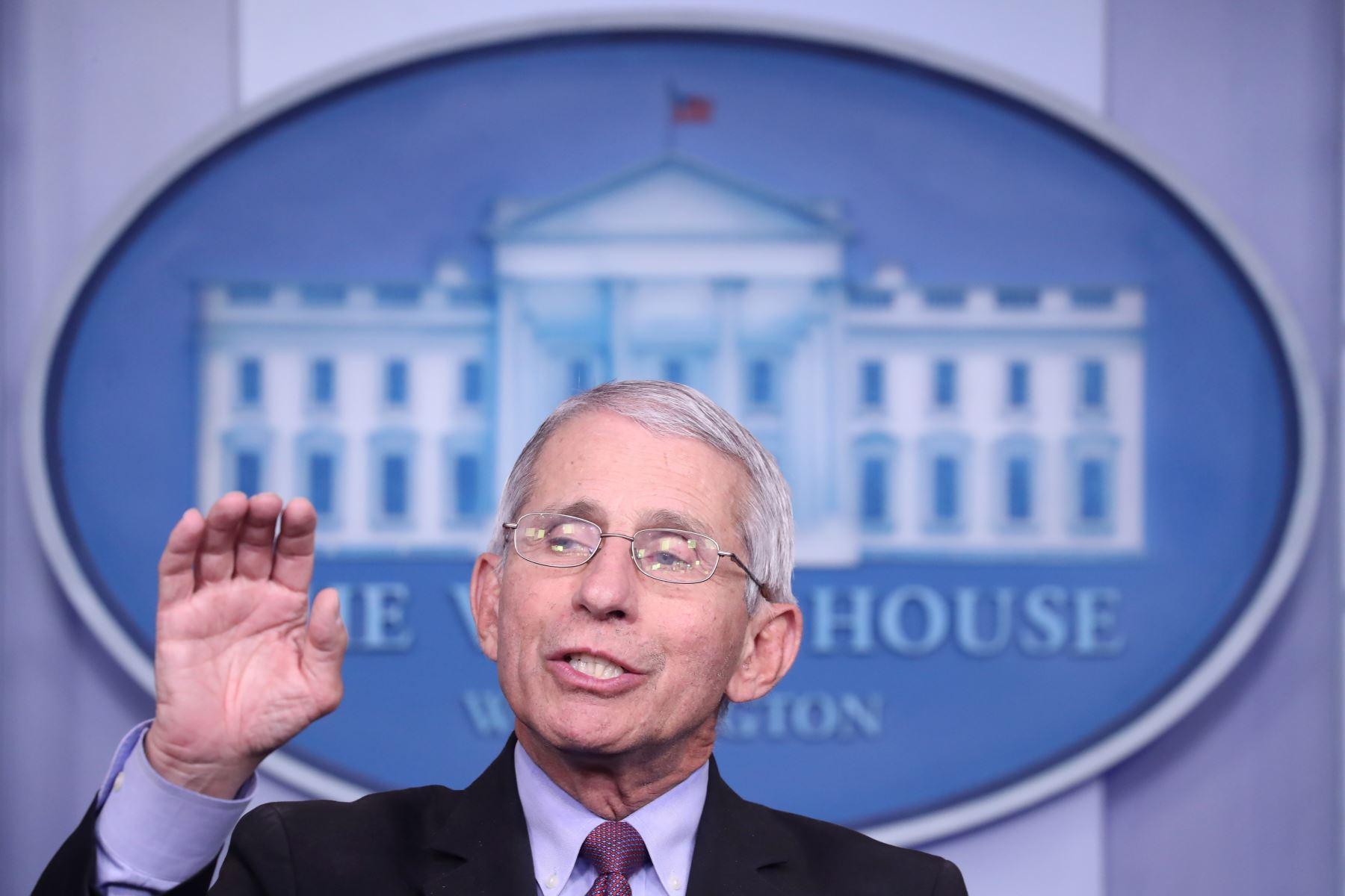 El principal experto en enfermedades infecciosas en Estados Unidos, Anthony Fauci. Foto: EFE