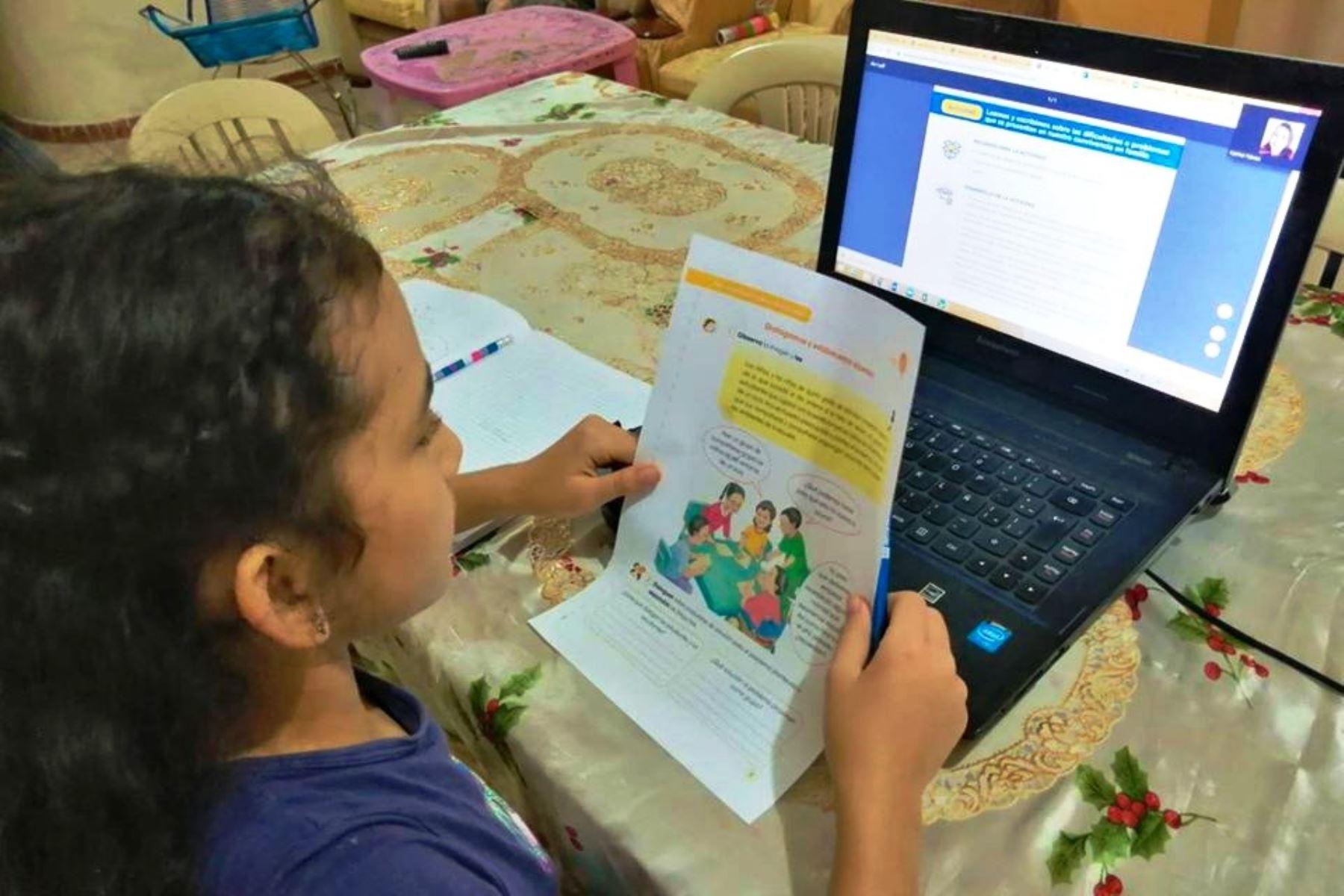 Proyecto Educativo Nacional fija el rumbo de la educación para los próximos 15 años en el Perú. Foto: ANDINA/difusión.
