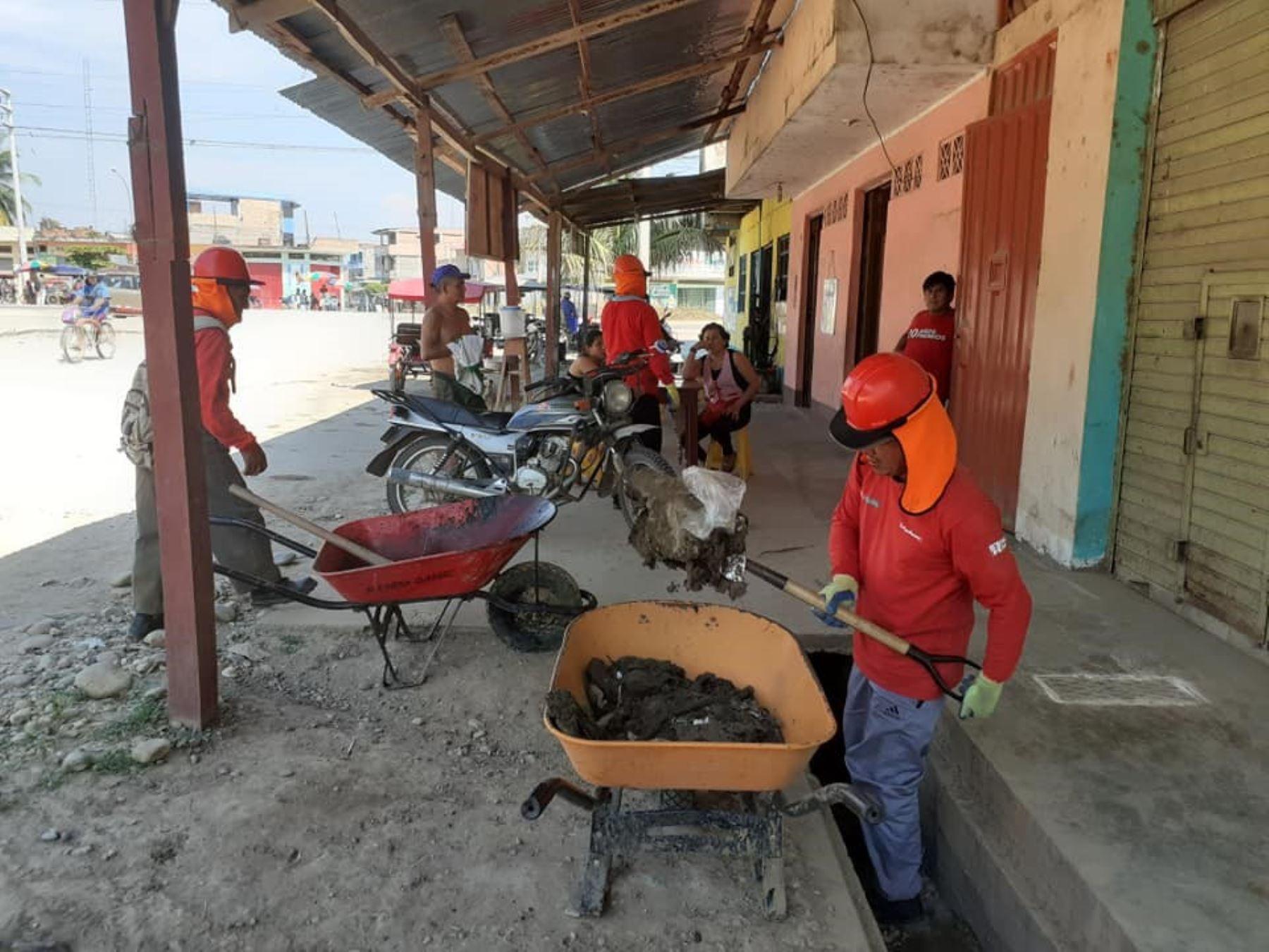 Ejecutivo transfirió cerca de 17 millones de soles a diversas municipalidades de la región San Martín para ejecutar obras de infraestructura urbana en convenio con el programa Trabaja Perú. ANDINA/Difusión