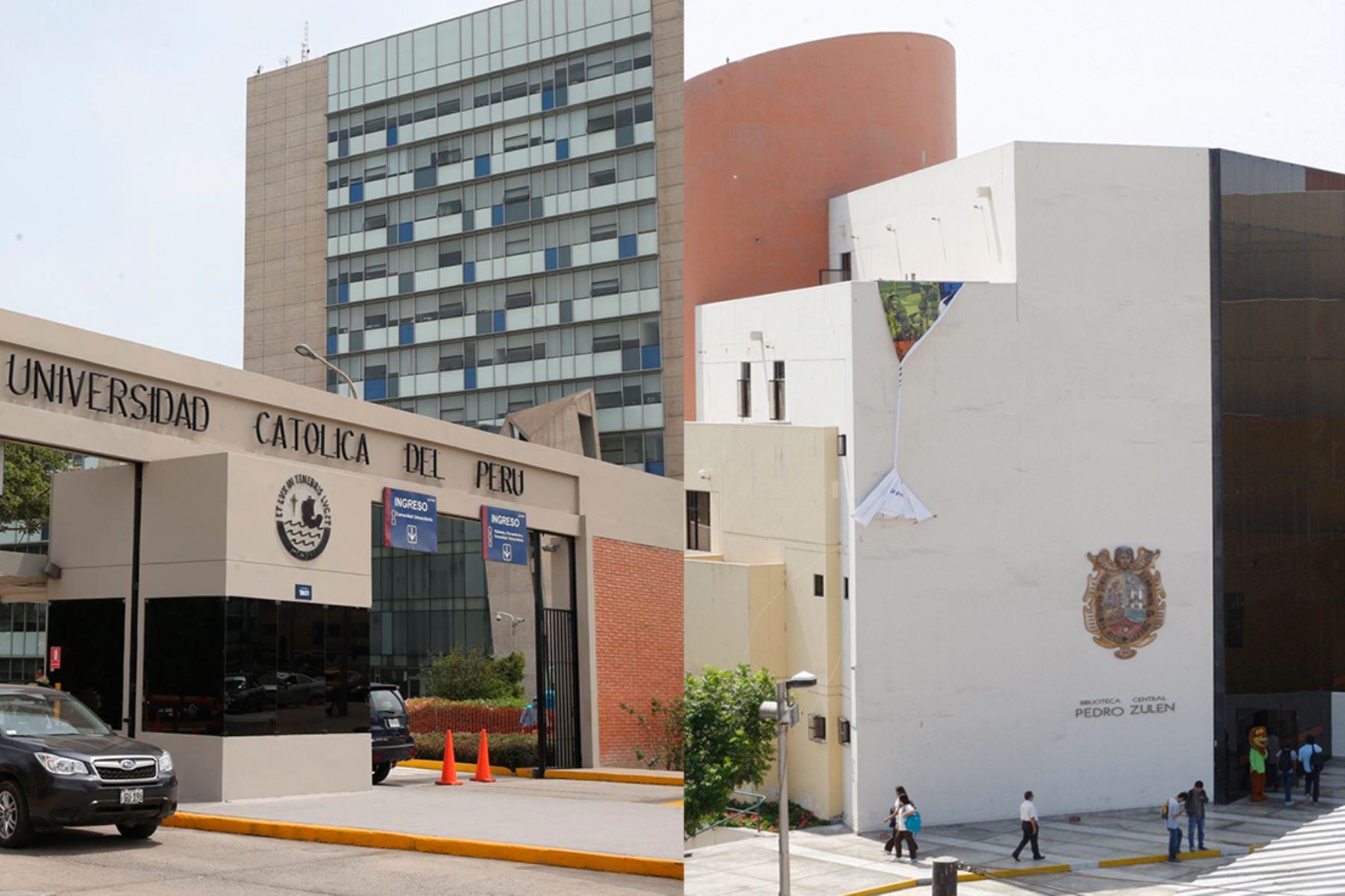Católica y San Marcos se ubican entre las 60 mejores universidades de Latinoamérica.