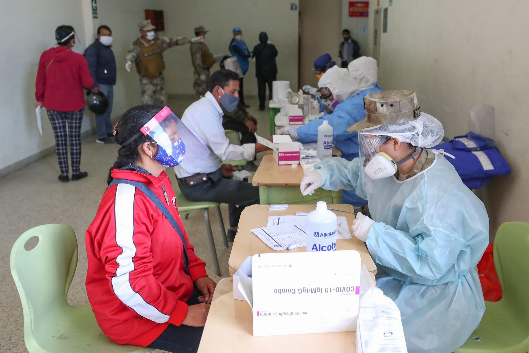 Ministro de Defensa Walter Martos dio inicio a la operación especial regional Tayta en Cajamarca.  Foto: ANDINA/Mindef