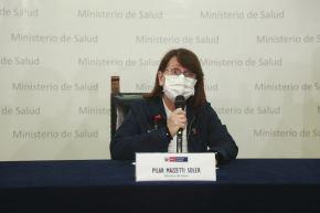La ministra de Salud, Pilar Mazzetti, saludó la suspensión de los partidos restantes de la fecha 7 del campeonato. Foto: ANDINA/Difusión
