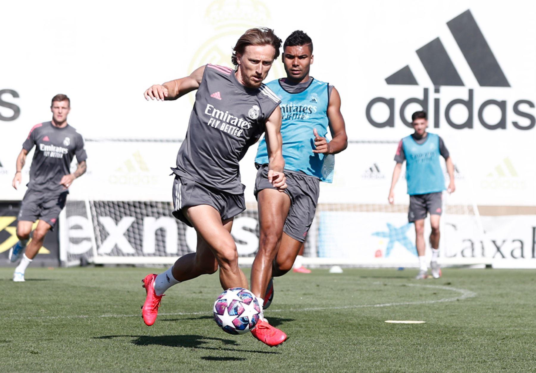 Real Madrid jugará dentro de siete días en Manchester, contra el City, el partido de vuelta de los octavos de final.