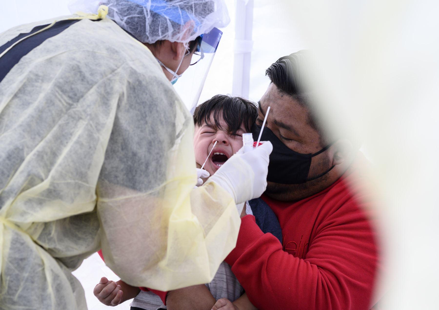 El aumento en los casos recientemente reportados establece otro récord para los casos reportados a la OMS dentro de un período de 24 horas. Foto: AFP