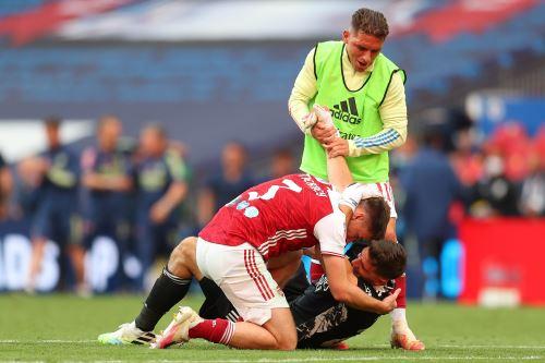 Arsenal se corona campeón de la FA Cup tras vencer a 2 - 1 al Chelsea