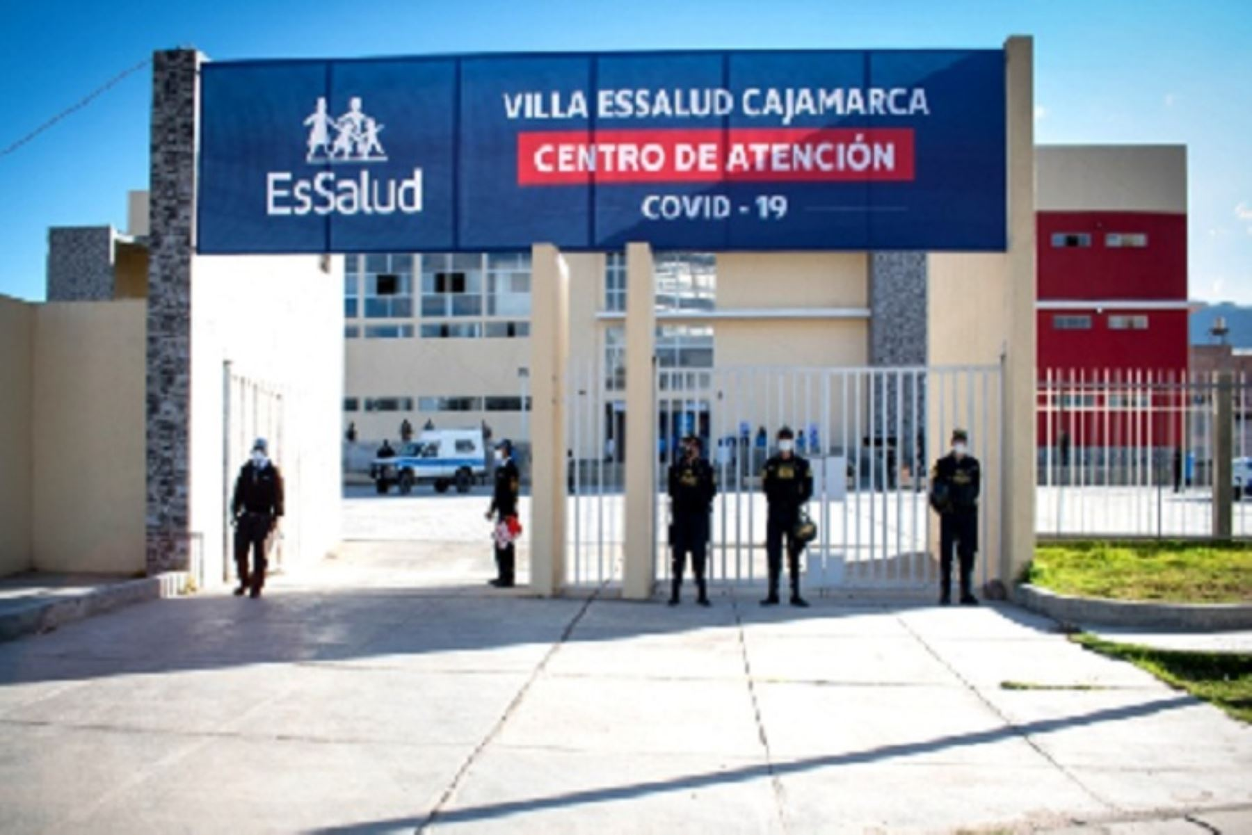 Villa EsSalud Cajamarca inició atención a pacientes covid-19