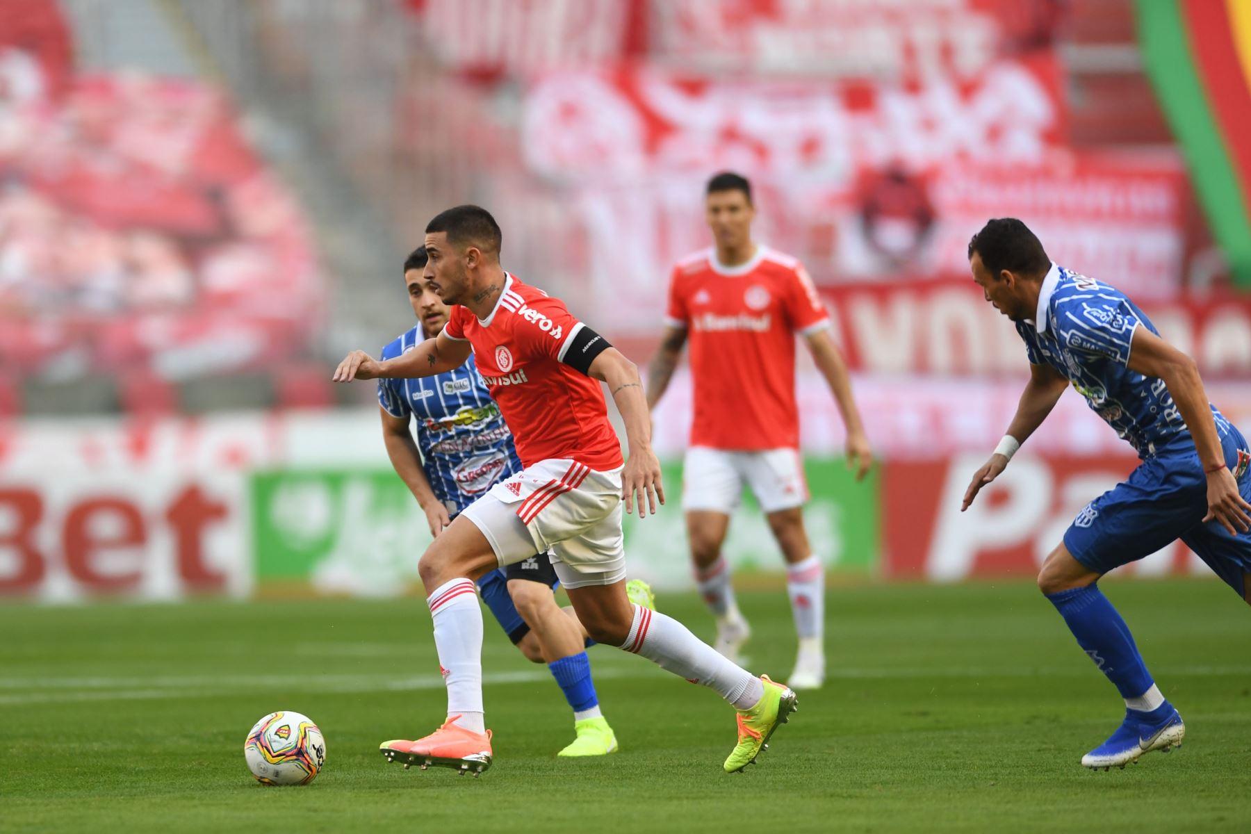 Finalmente, Internacional derrotó 4-0 a Esportivo de Bento por la semifinal del campeonato Gaúcho. Foto: @SCInternacional