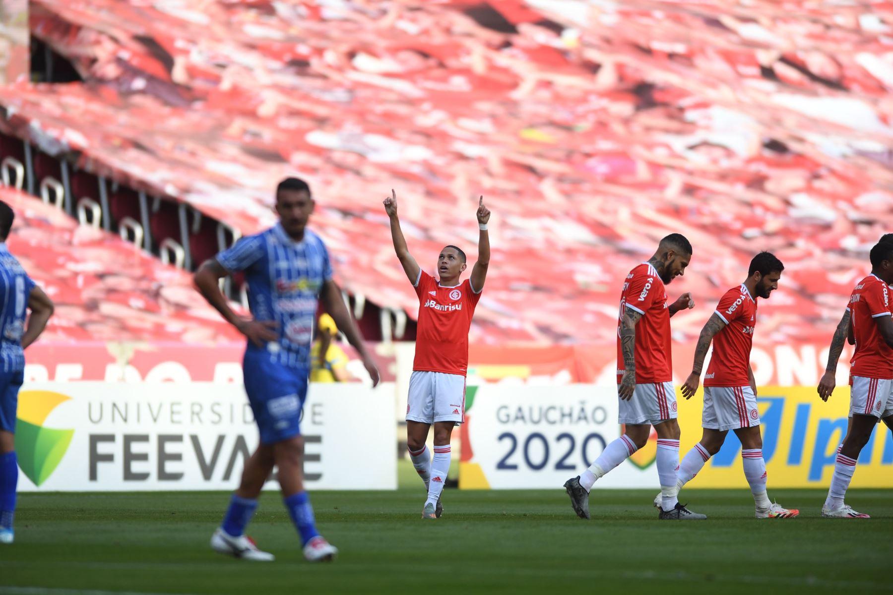 El encuentro fue por las semifinales del Campeonato Gaúcho. Foto: @SCInternacional