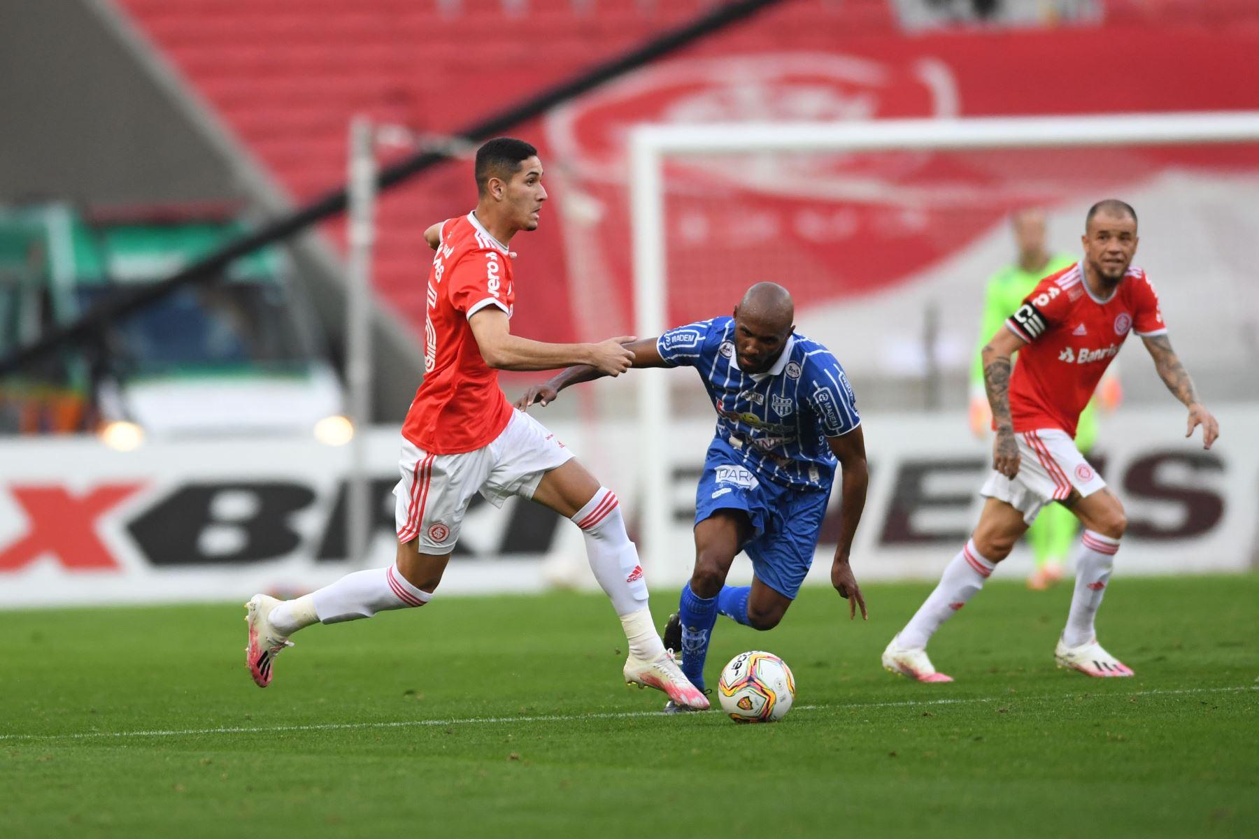Internacional derrotó 4-0 a Esportivo de Bento por la semifinal del campeonato Gaúcho. Foto: @SCInternacional