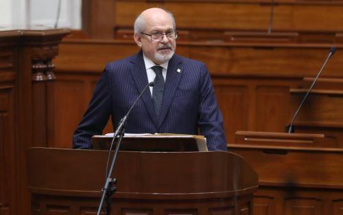 Presidente del Consejo de Ministros, Pedro Cateriano. Foto: ANDINA/Difusión