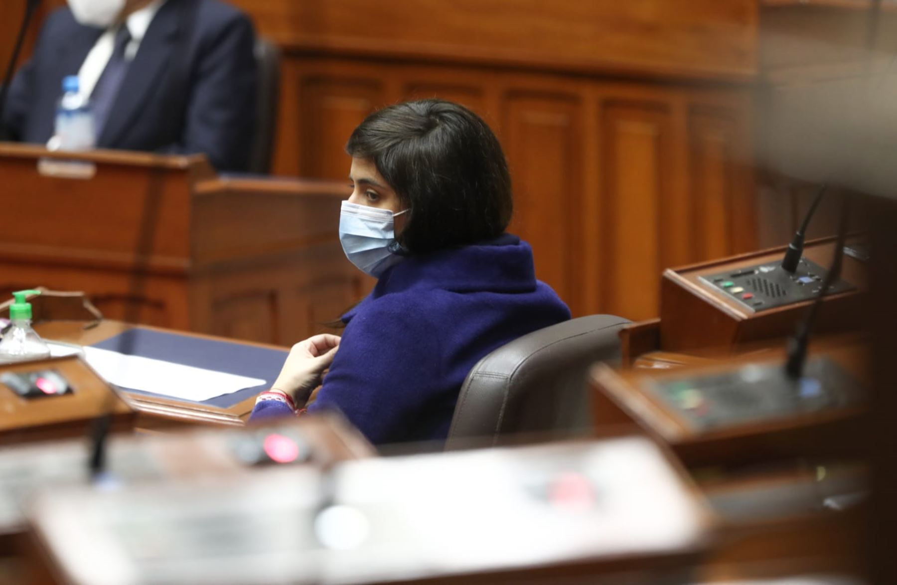 Ministra de economía, María Antonieta Alva. Foto: PCM