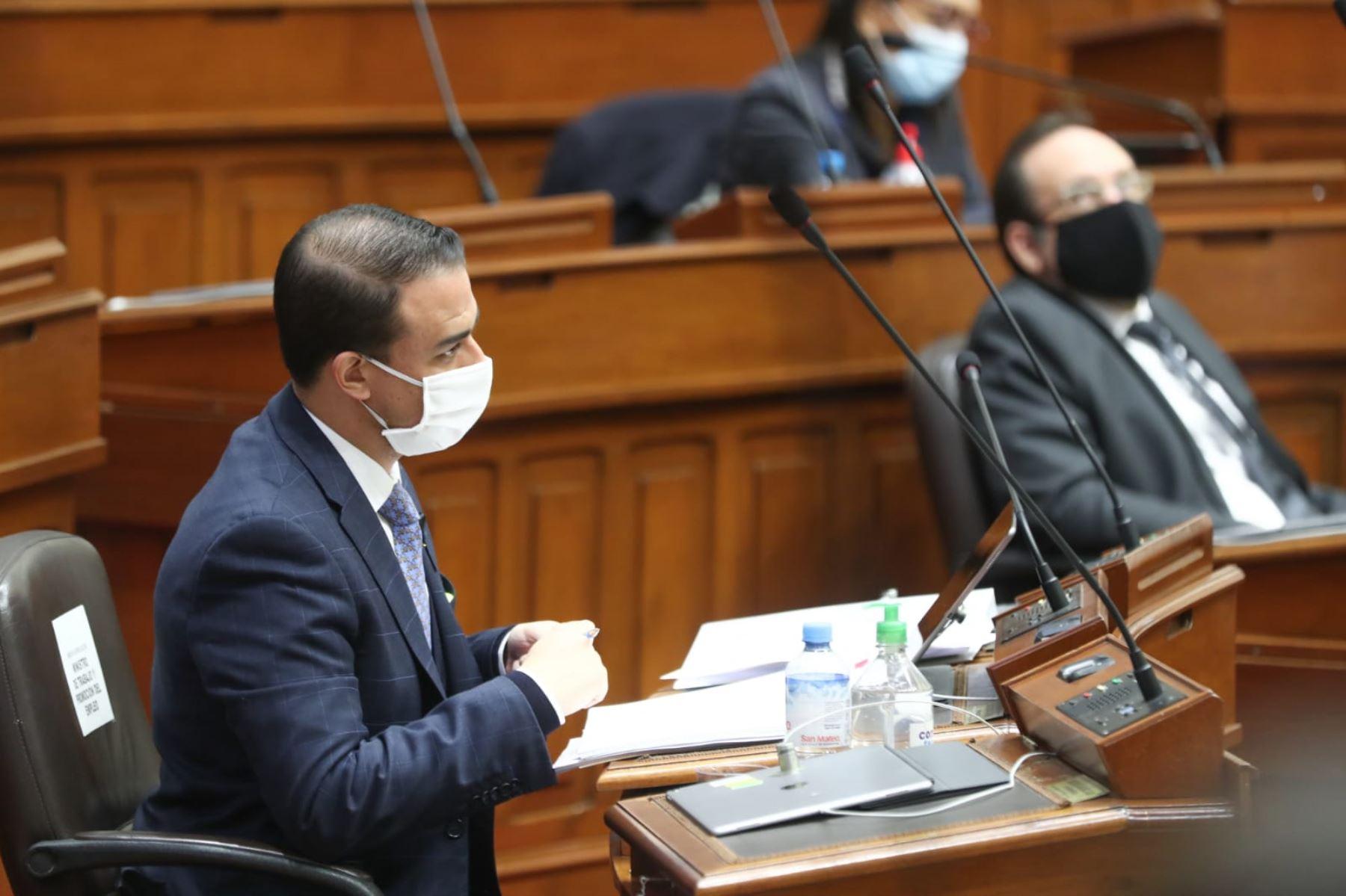 Martin Ruggiero, ministro de Trabajo. Foto: PCM