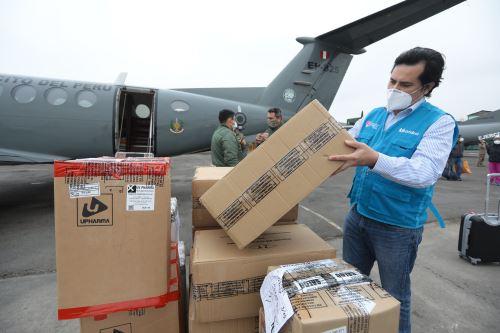 Coronavirus: Essalud envía material a Huánuco