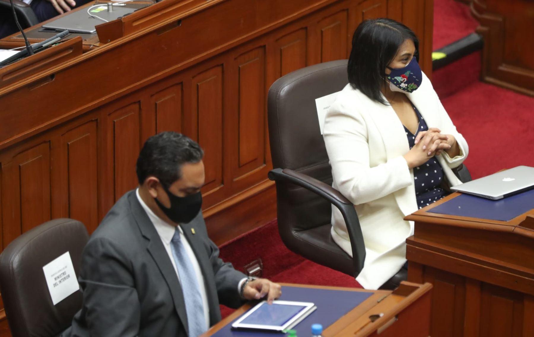 Ana Neyra Zegarra, ministra de Justicia y Derechos Humanos. Foto: PCM