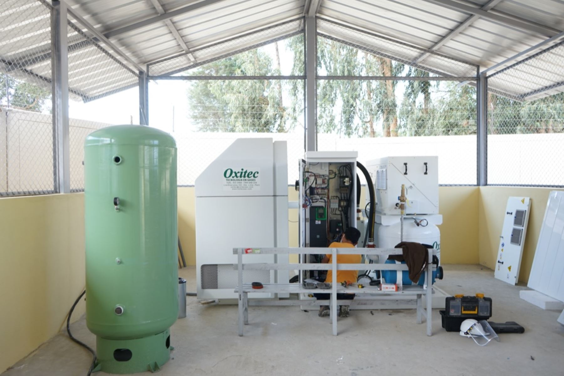 Para este 2020 está en proceso la adquisición o mantenimiento de 19 plantas de oxígeno y, con cargo al financiamiento de los gobiernos regionales, 29 plantas másANDINA/Difusión
