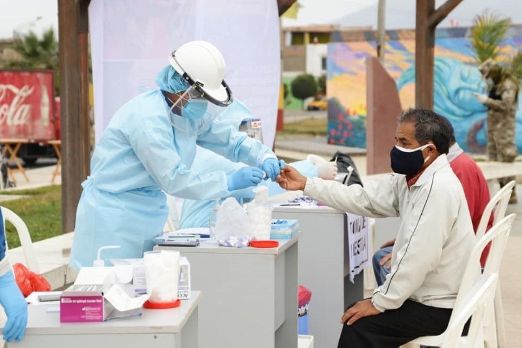 Campañas de salud focalizadas en los distritos de Santa y Coishco, región Áncash. ANDINA/Difusión