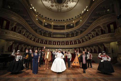 Municipalidad de Lima conmemoró los 100 años del Teatro Municipal