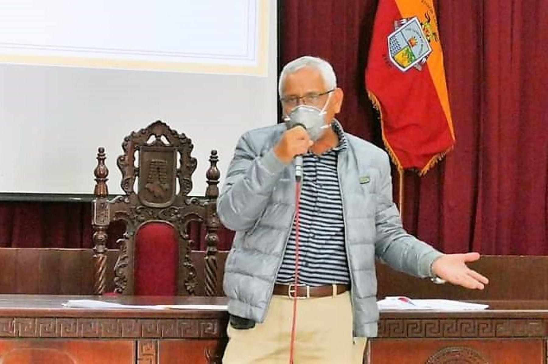 Gobernador regional de Lambayeque, Anselmo Lozano. ANDINA/Difusión