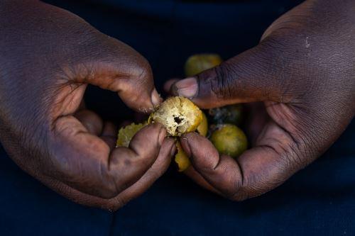 La grave situación alimentaria se ha complicado por los impactos de la pandemia global de la covid-19. Foto: AFP