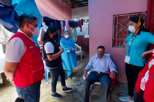 Coronavirus: Red Amachay supervisa la salud de cerca de 10 mil adultos mayores y personas con discapacidad en Loreto.