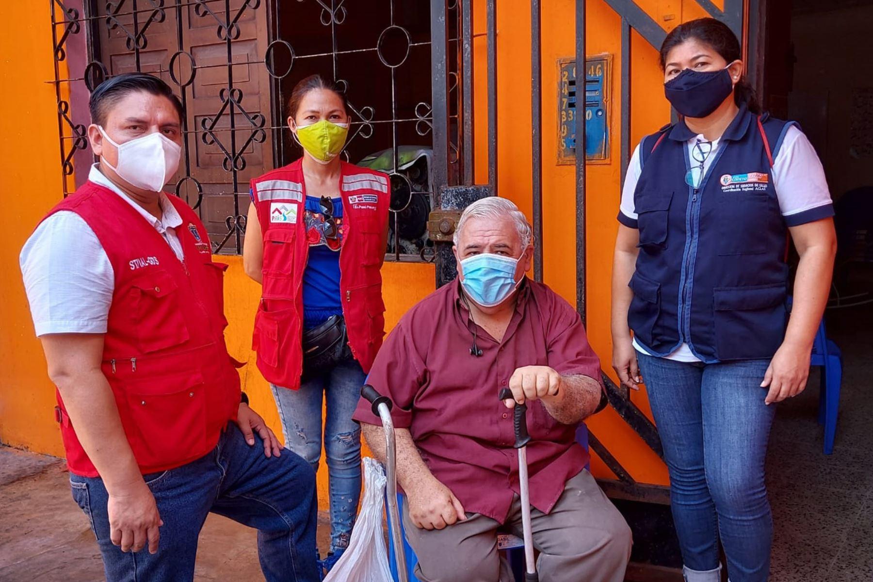Red Amachay supervisa la salud de cerca de 10 mil adultos mayores y personas con discapacidad en Loreto.  Foto: ANDINA / Midis