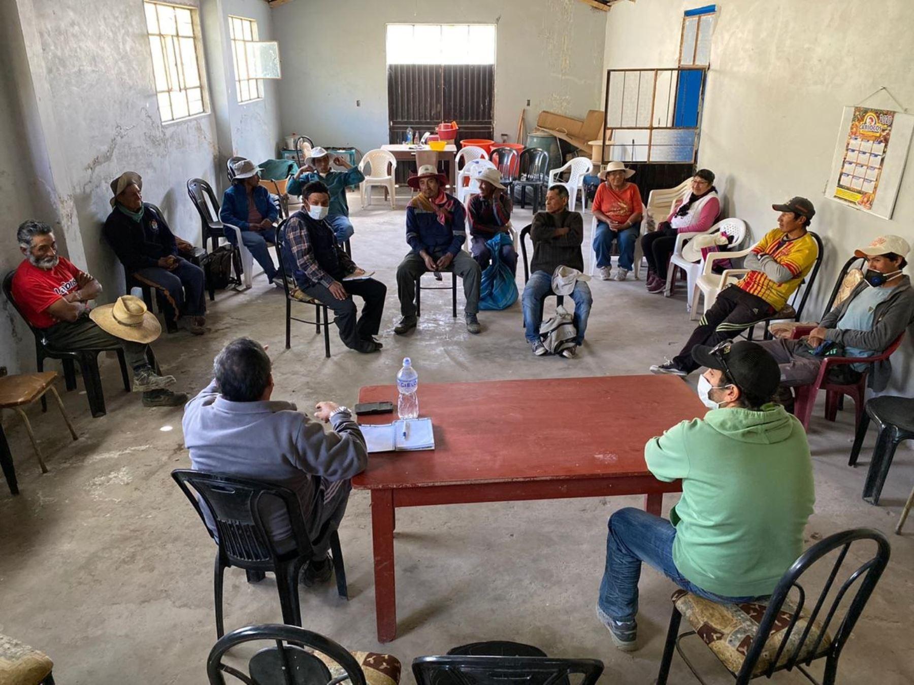 Conoce la plataforma digital que conecta a pequeños emprendedores de la provincia de Caylloma, en Arequipa, con el mundo y que se vieron afectados por el impacto del coronavirus. Foto: Fundación Telefónica