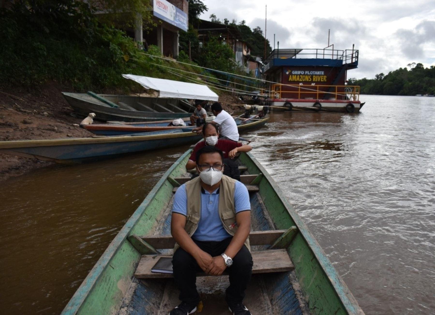 Conoce a Jotam Valverde, el joven talento de Pronabec quien regresó a su natal Amazonas para ayudar en la luchar contra el covid-19 en las comunidades indígenas. ANDINA/Difusión