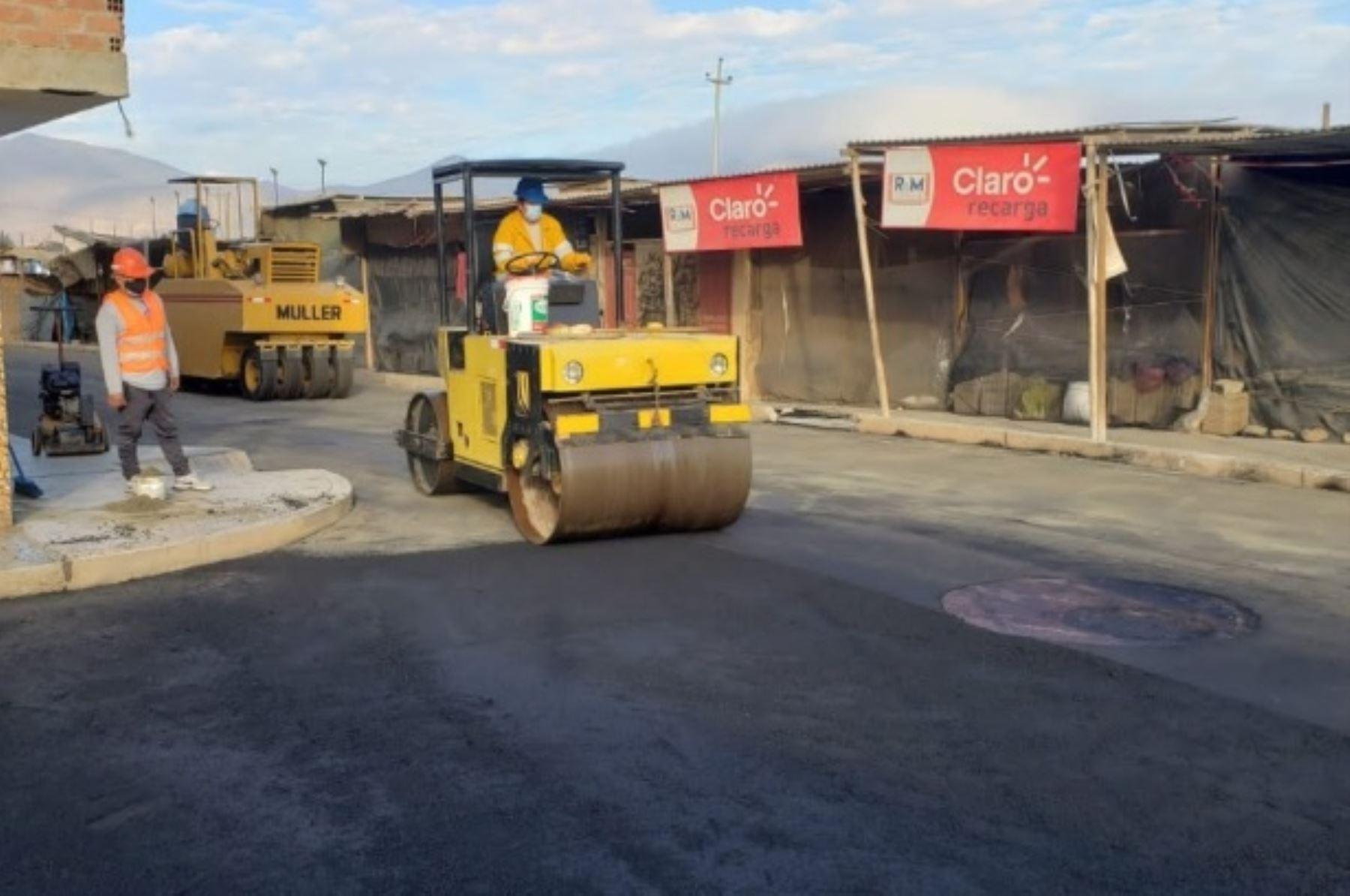 Reanudación de obras financiadas por la Autoridad para la Reconstrucción con Cambios (ARRC) en Ayacucho y Áncash. Foto: Autoridad para la Reconstrucción con Cambios