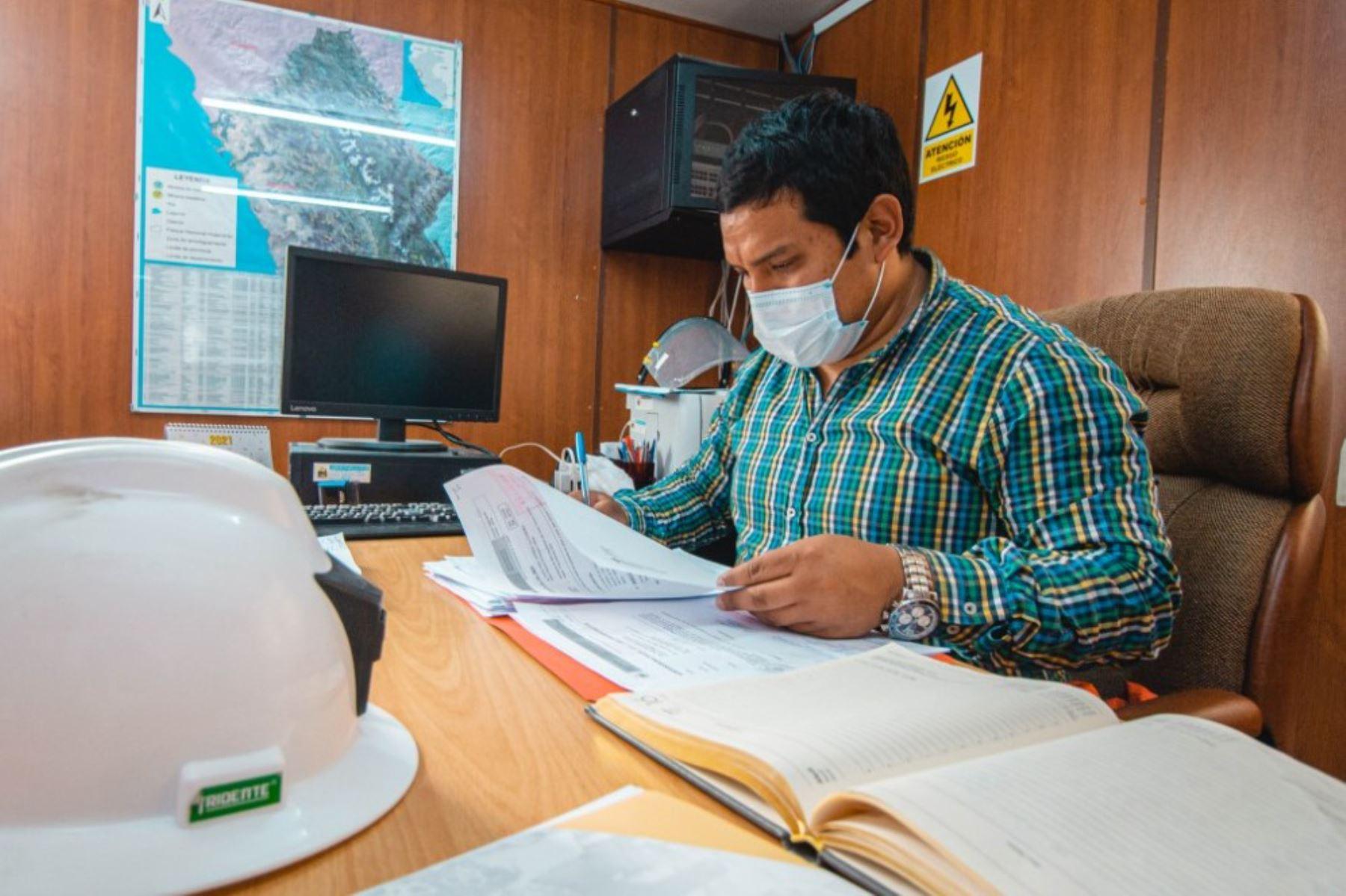 Director regional de Energía, Minas e Hidrocarburos de Áncash, Paolo Andrés Alzamora.