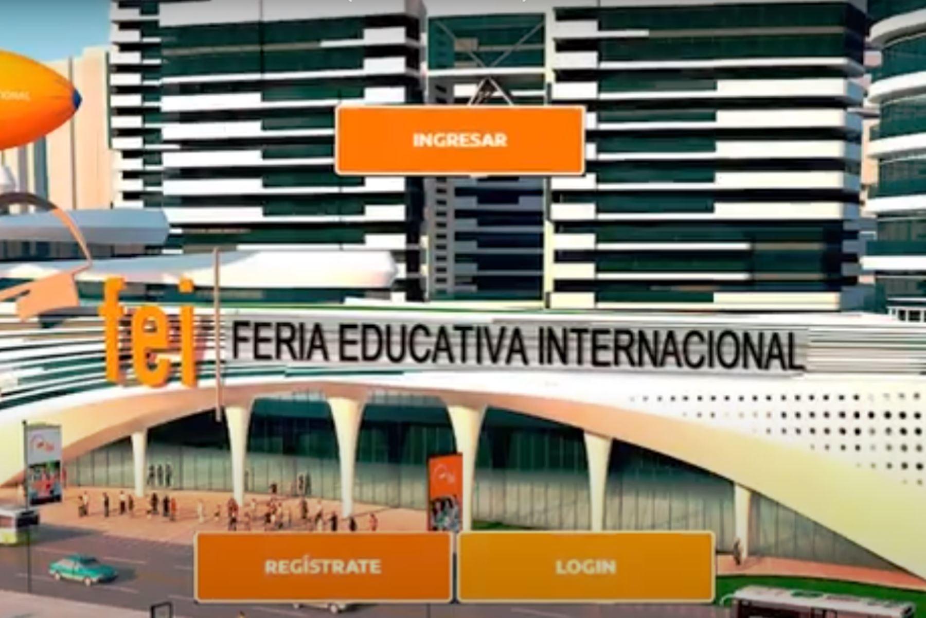 XX Feria Educativa Internacional. Foto: ANDINA/difusión.