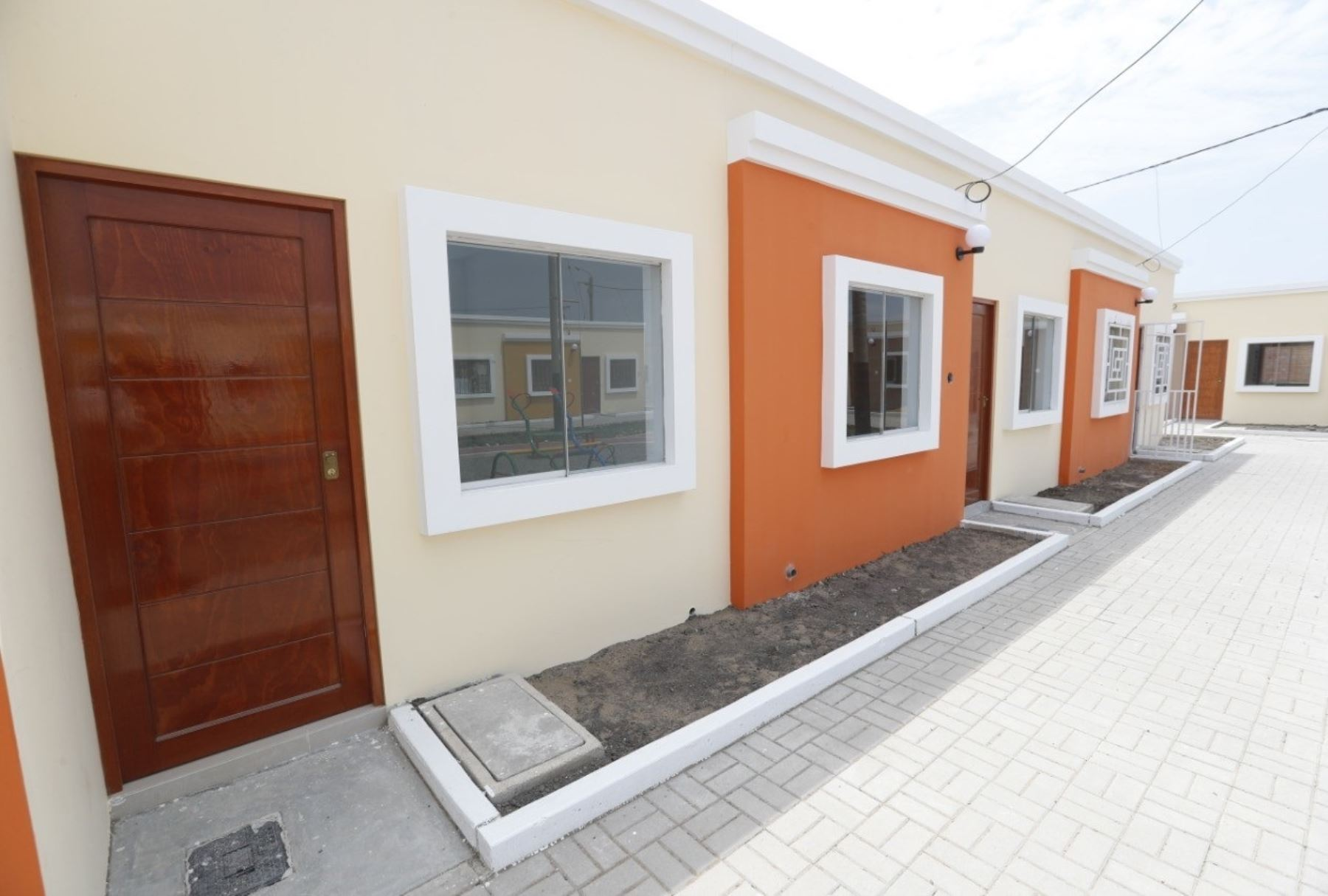 El programa Techo Propio oferta 560 viviendas en la región San Martín. ANDINA/Difusión