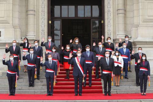 Juramentación del nuevo Gabinete Ministerial