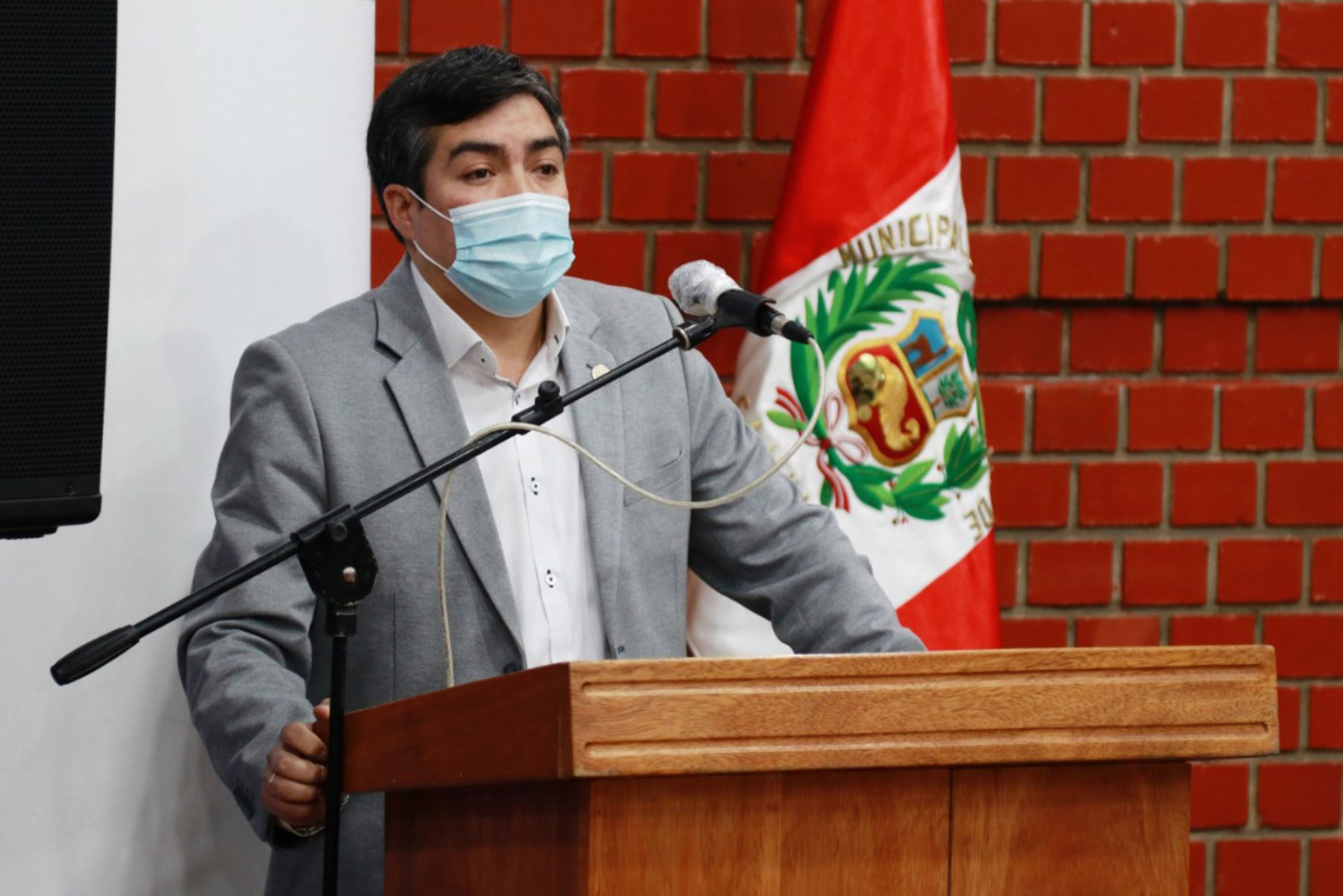 Presidente de Remurpe, Andrés Villar. ANDINA/Difusión