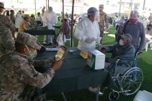 Coronavirus: Ejército del Perú impulsa el Plan Tayta en Moquegua