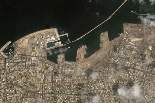(Fotos: satélite PerúSAT-1)