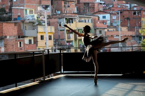 Coronavirus: Ballet en la favela Paraisópolis