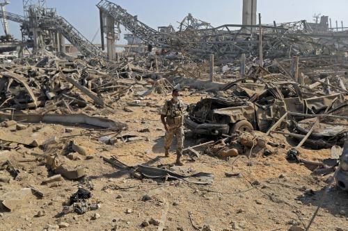 Suben a 154 las muertes por explosión en Líbano mientras continúan trabajos de rescate