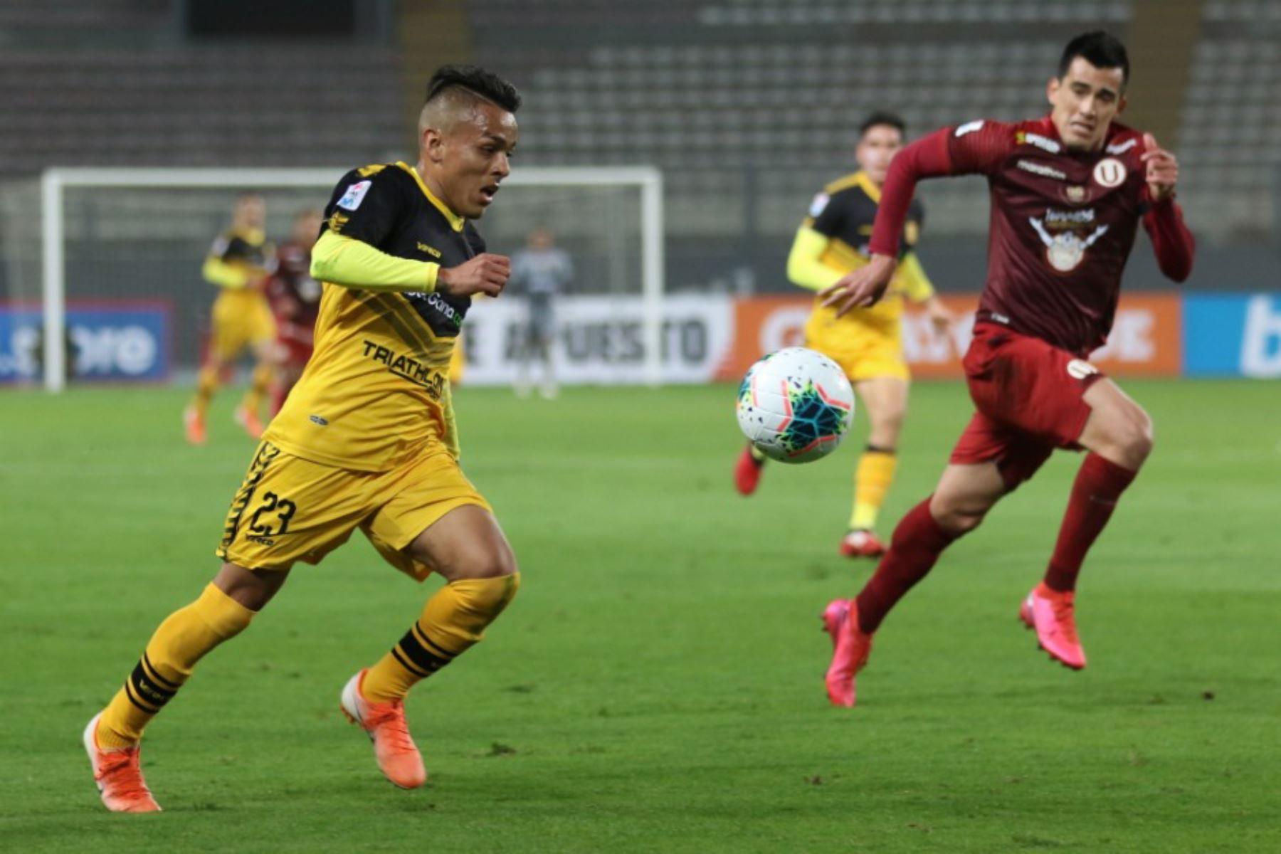 Universitario de Deportes empata 0 a 0 ante Cantolao en la fase 1 de la Liga Movistar en el estadio Nacional. Foto: Liga 1 de Fútbol Profesional