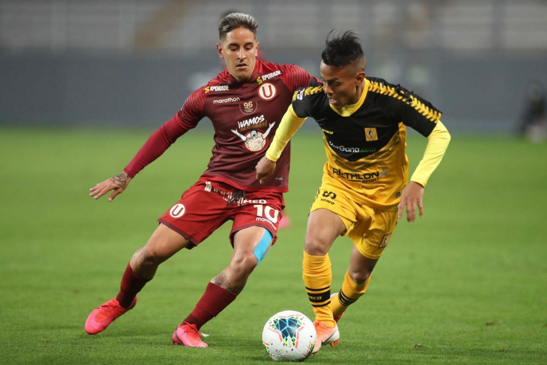 Universitario de Deportes empata 0 a 0 con el Cantolao en la fase 1 de la Liga Movistar en el estadio Nacional. Foto: Liga 1 de Fútbol Profesional