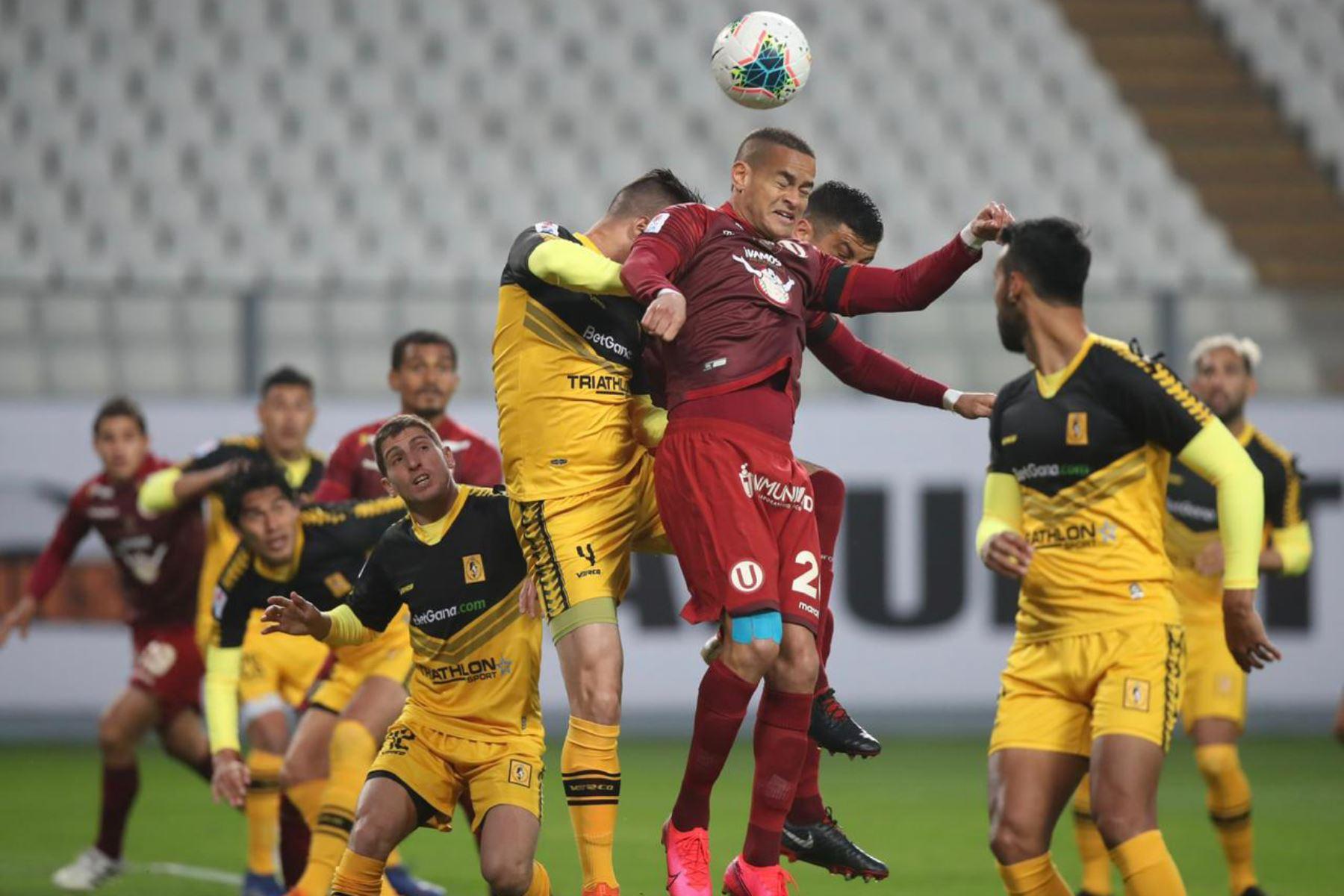 El último 7 de agosto el Ejecutivo dispuso la suspensión de la Liga 1 hasta que se garanticen los protocolos de seguridad. ANDINA/Difusión
