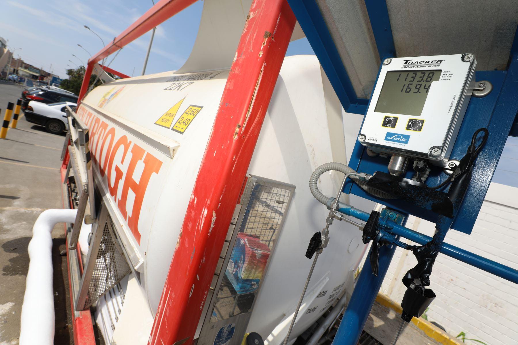 Ante la alta demanda de oxígeno en Ayacucho, EsSalud adquirirá un isotanque para garantizar la atención a los pacientes covid-19. Foto: ANDINA/Difusión