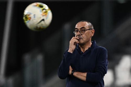 Sarri a punto de ser destituido de la Juventus