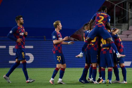 Barcelona derrotó 3-1 al Napoli y clasificó a cuartos de final de la Champions League