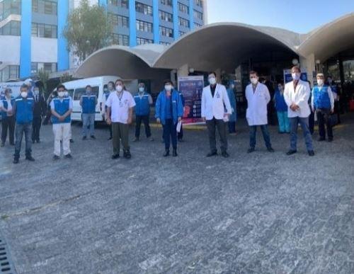 La Red Asistencial EsSalud Arequipa puso al servicio de los asegurados de la región 25 unidades adicionales de respuesta rápida para atender pacientes con el nuevo coronavirus, lo que permitirá incrementar el número de atenciones domiciliarias.