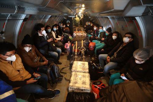 Coronavirus: Nueva brigada médica partió a Cusco conformada por 50 profesionales de la salud