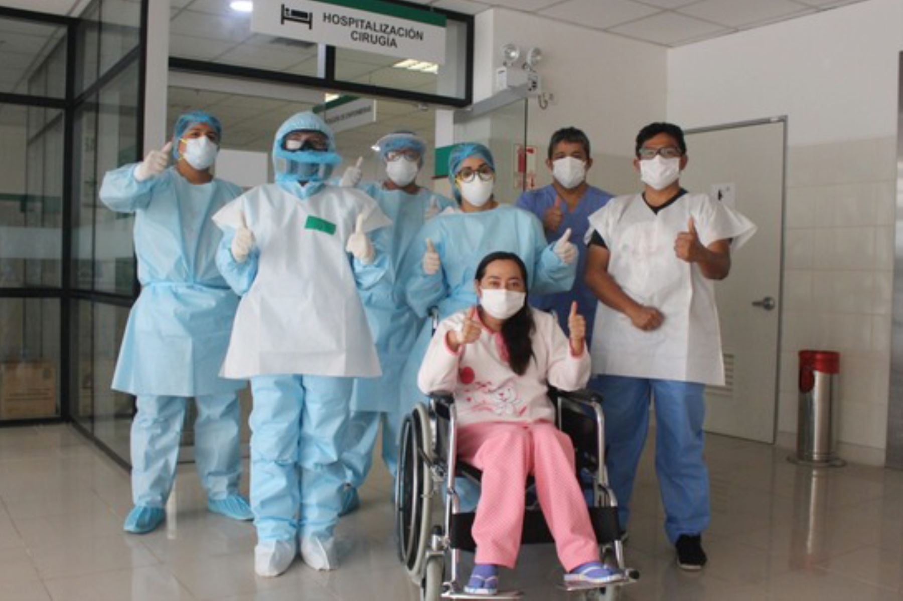 Zulmy dio 15 días de intensa batalla contra el covid-19 en el Hospital Emergencia Ate Vitarte y logró vencer la enfermedad. Foto: ANDINA/Difusión