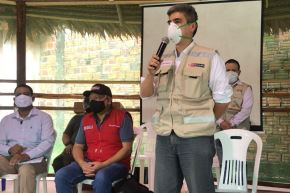 El ministro de Cultura, Alejandro Neyra, cumple segundo día de trabajo en la región Loreto. Foto: ANDINA/Difusión