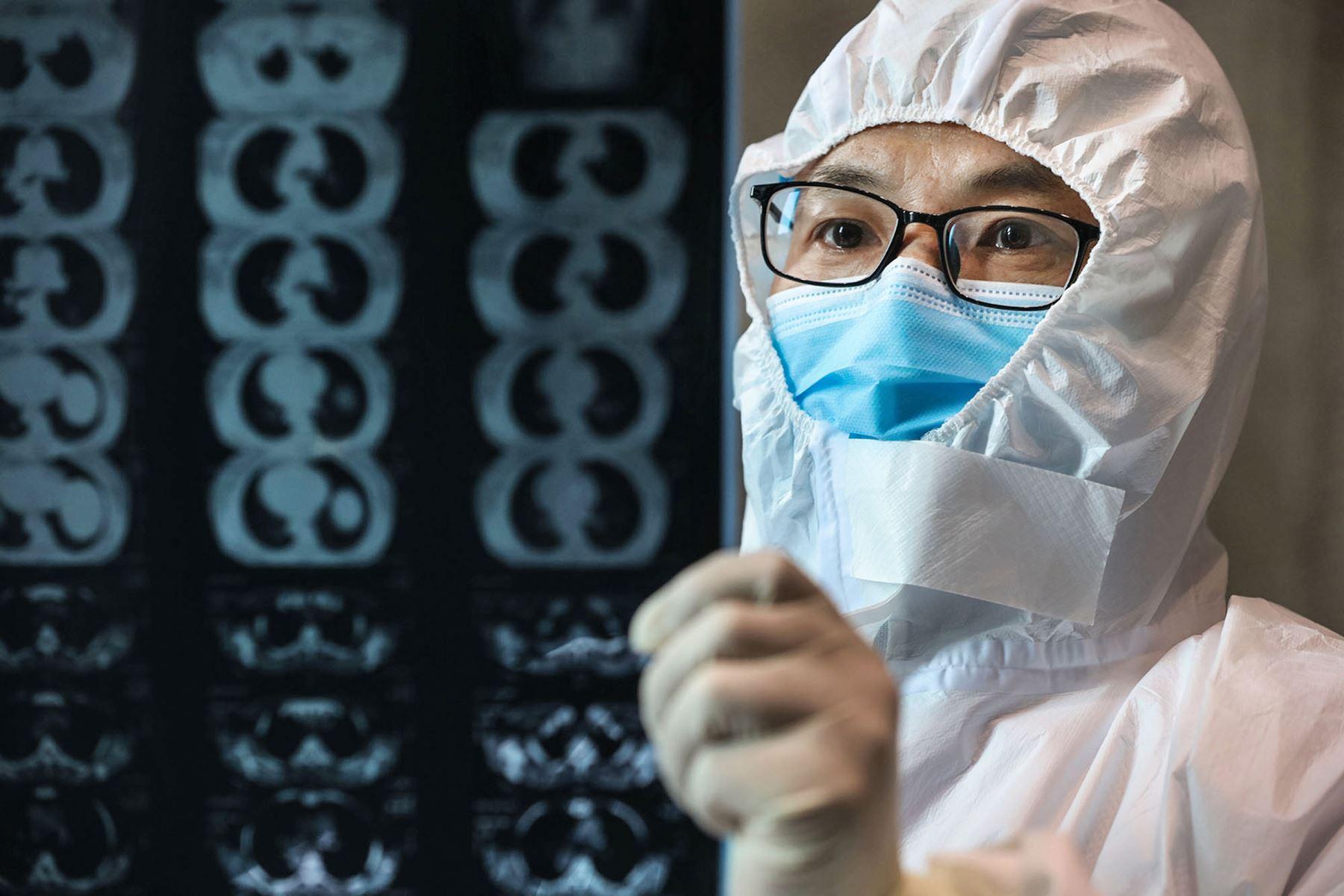 Según la Organización Mundial de la Salud (OMS), el periodo de la incubación de la peste es de entre 3 y 7 días, y tiene una tasa de mortalidad del 30%. Foto: AFP
