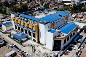 El Gobierno Regional Huánuco informó que la construcción del hospital regional Hermilio Valdizán, de nivel III-1, reporta un avance de 77.72 % y prioriza la habilitación de áreas de emergencia para fortalecer la respuesta ante la emergencia sanitaria que afronta el departamento. Foto: Gobierno Regional de Huánuco.